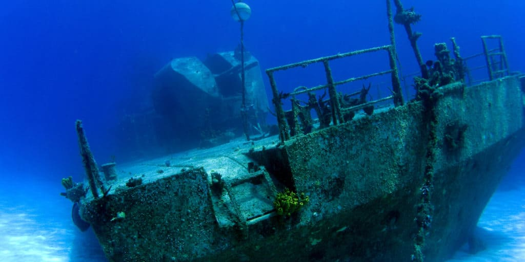 Originally coined 356, this wreck is now called the M/V Captain Keith Tibbetts after a well-known Cayman Brac politician