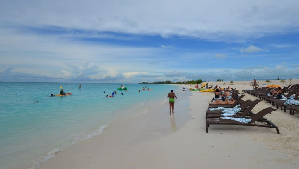 In the Bahamas people live the calm island life